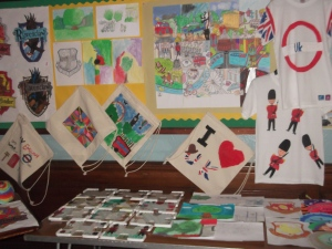 Here is some of the student's artwork that has been created during the course.