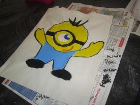 Bag painting 7