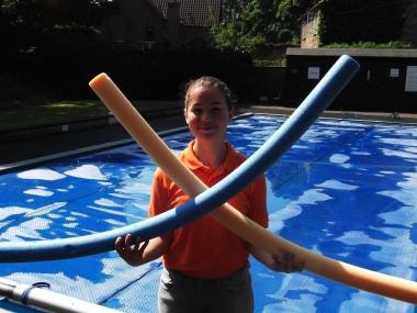 Gabi, Lifeguard and Social Activities Teacher