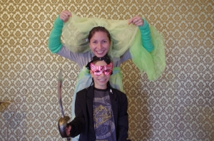 The Photo Booth: Vova and his mum