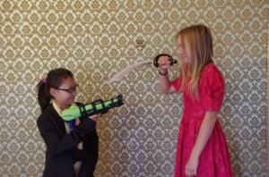 The Photo Booth: Eva and Hannah