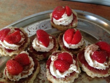 Scones with Jam and Cream. Delicious!