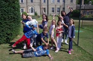 Freya's class show their fun energy!