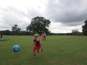 Wladamir playing football