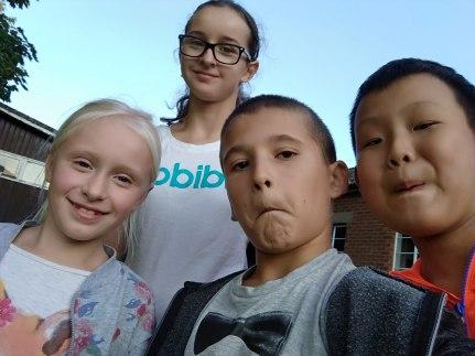 Group selfie